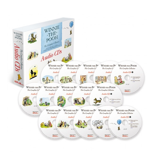 Winnie-the-Pooh: The Complete Collection 위니더푸 Audio CD 15종 세트 (Audio CD)