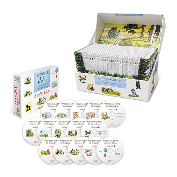 Winnie-the-Pooh: The Complete Collection 위니더푸 스토리북 30종 Set (Book&CD)