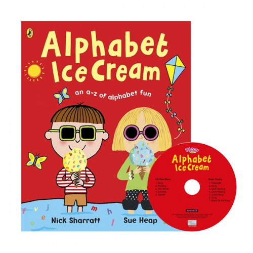 Pictory - Alphabet Ice Cream (Book & CD)