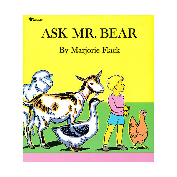 Pictory - Ask Mr. Bear (Book & CD)