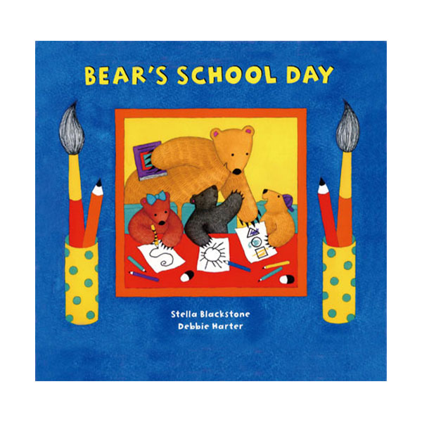 Pictory - Bear's School Day (Book & CD)