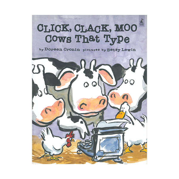 Pictory - Click Clack Moo Cows that Type (Book & CD)