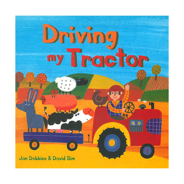 Pictory - Driving My Tractor (Book & CD)