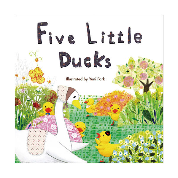 Pictory - Five Little Ducks (Book & CD)