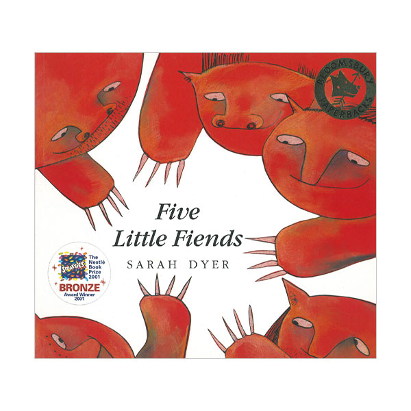 Pictory - Five Little Fiends (Book & CD)