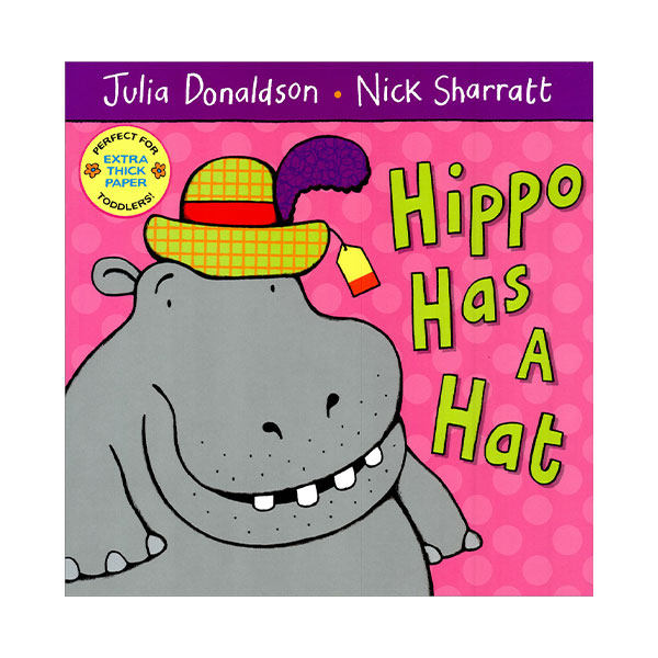 Pictory - Hippo Has a Hat (Book & CD)