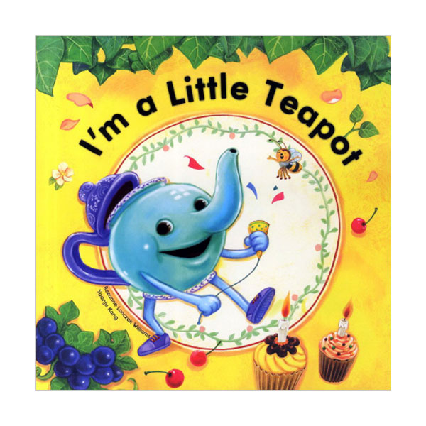 Pictory - I'm a Little Teapot (Book & CD)
