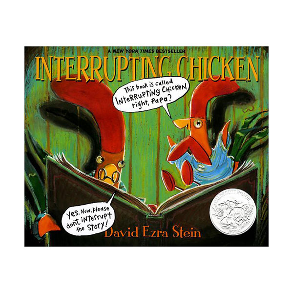 Pictory - Interrupting Chicken (Book & CD)