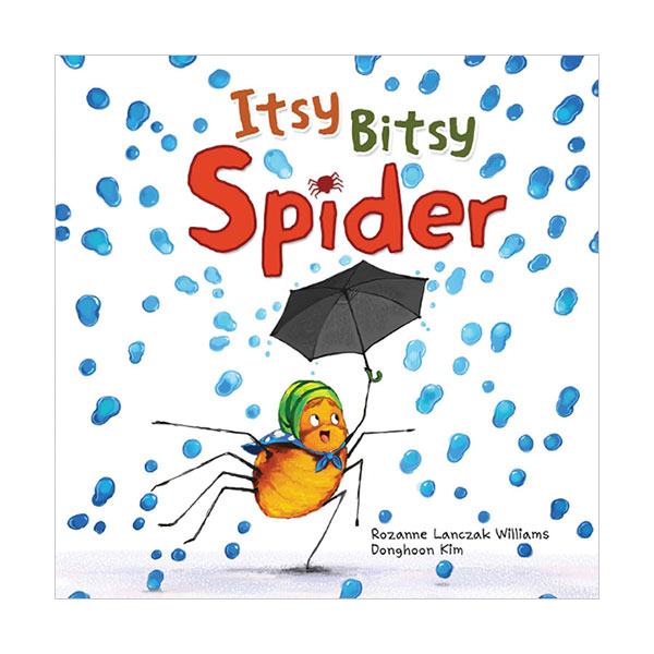 Pictory - Itsy Bitsy Spider (Book & CD)