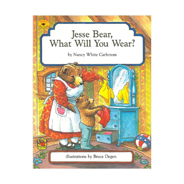 Pictory - Jesse Bear, What Will You Wear? (Book & CD)