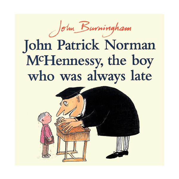 Pictory - John Patrick Norman McHennessy, the Boy Who Was Always Late (Book & CD)