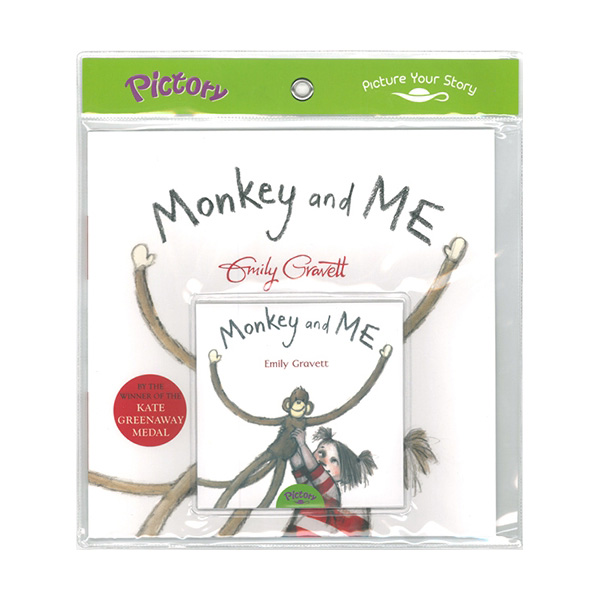 Pictory - Monkey and Me (Book & CD)