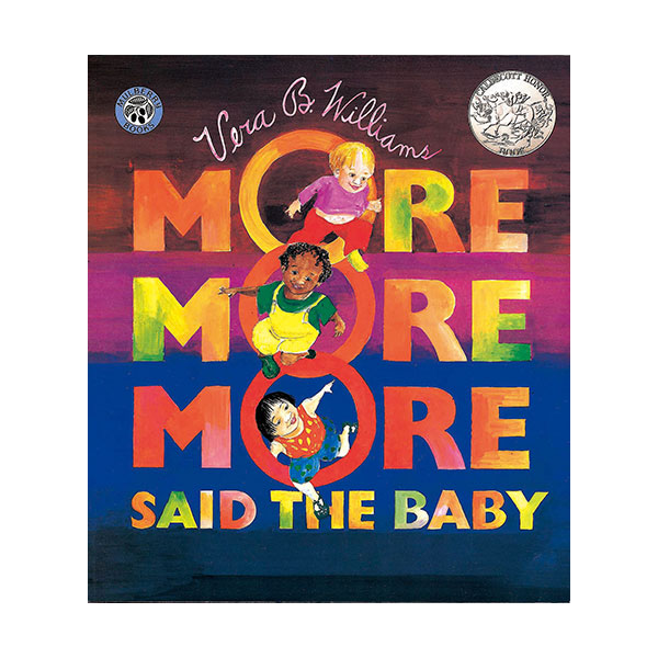 Pictory - More More More Said the Baby (Book & CD)