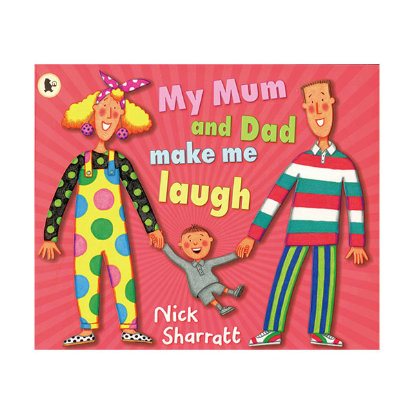 Pictory - My Mum and Dad Make Me Laugh (Book & CD)