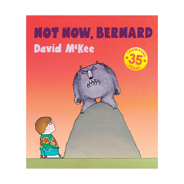 ☆윈터세일☆Pictory - Not Now, Bernard (Book & CD)