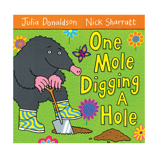 Pictory - One Mole Digging a Hole (Book & CD)
