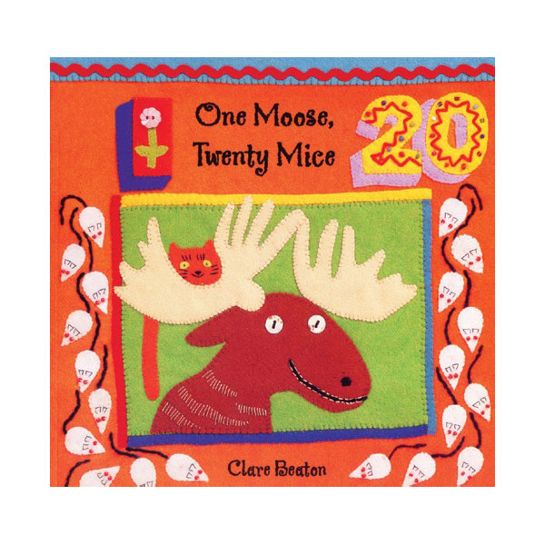 Pictory - One Moose Twenty Mice (Book & CD)