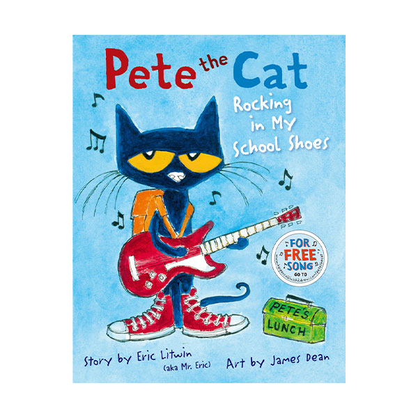 Pictory - Pete the Cat : Rocking In My School Shoes (Hardcover & CD)