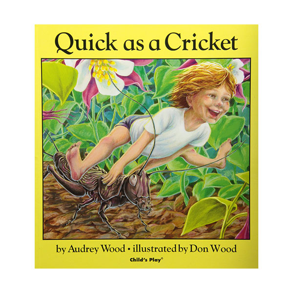 Pictory - Quick As a Cricket (Book & CD)