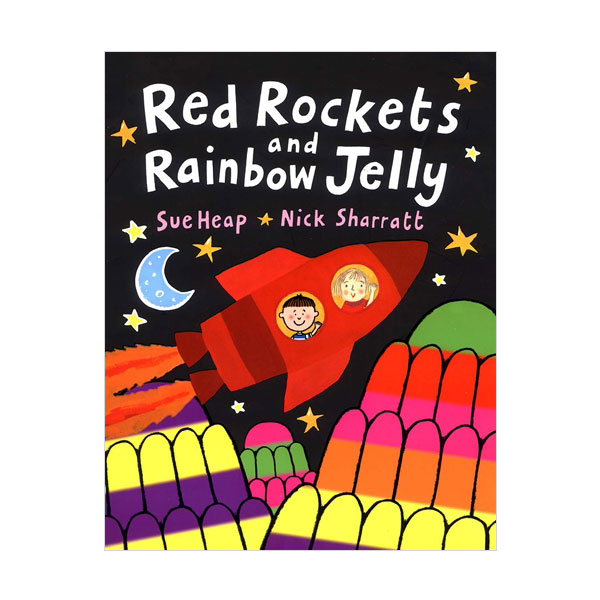 ☆윈터세일☆Pictory - Red Rockets and Rainbow Jelly (Book & CD)
