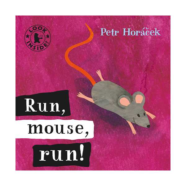 Pictory - Run, Mouse, Run! (Book & CD)