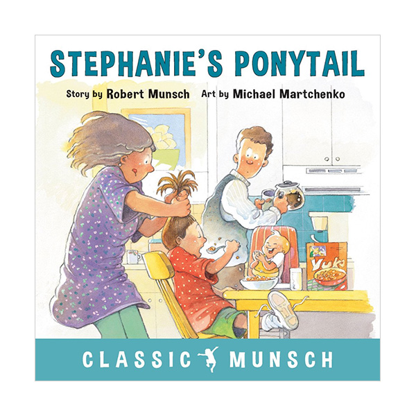 Pictory - Stephanie's Ponytail (Book & CD)