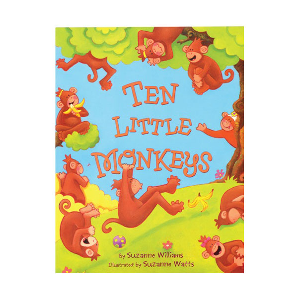Pictory - Ten Little Monkeys (Book & CD)