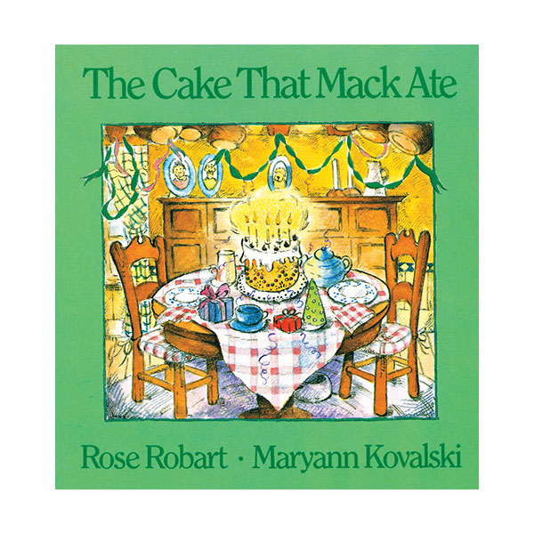Pictory - The Cake That Mack Ate (Book & CD)