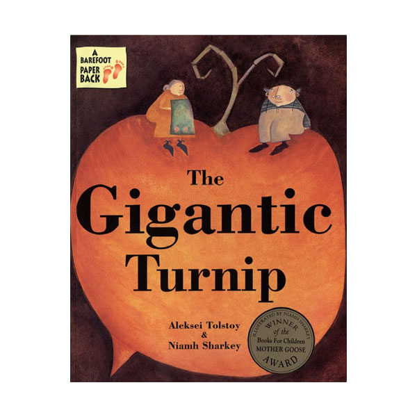 Pictory - The Gigantic Turnip (Book & CD)