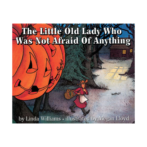 Pictory - The Little Old Lady Who Was Not Afraid of Anything (Book & CD)