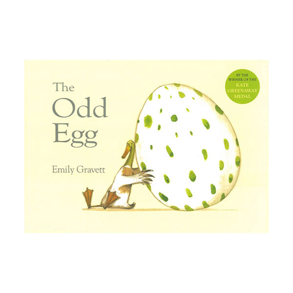 Pictory - The Odd Egg (Book & CD)