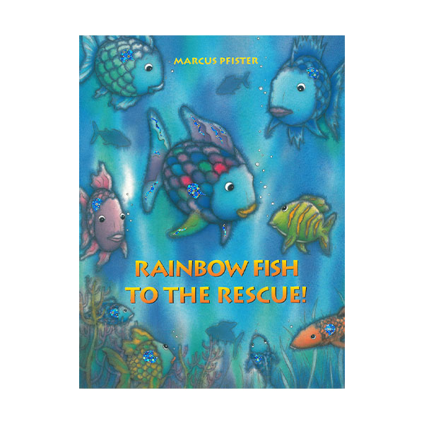 Pictory - The Rainbow Fish to the Rescue! (Book & CD)