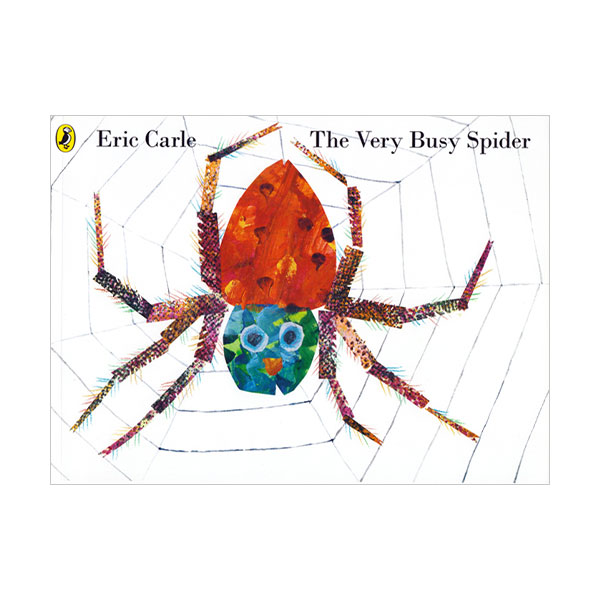 Pictory - The Very Busy Spider (Book & CD)