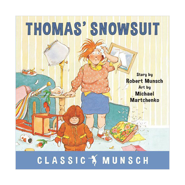 Pictory - Thomas' Snowsuit (Book & CD)