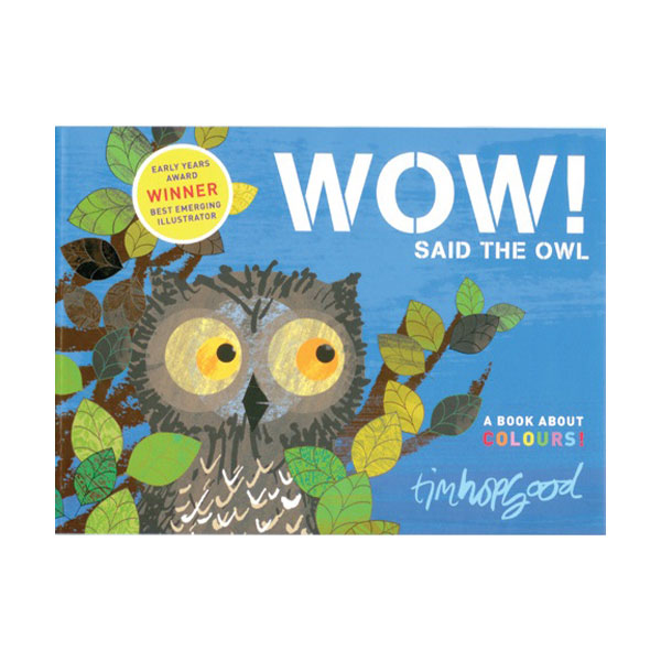Pictory - Wow! Said the Owl (Book & CD)