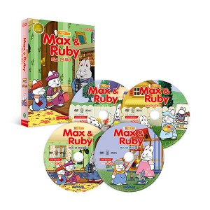 [DVD] Max and Ruby 맥스 앤 루비 시즌 2 4종 세트