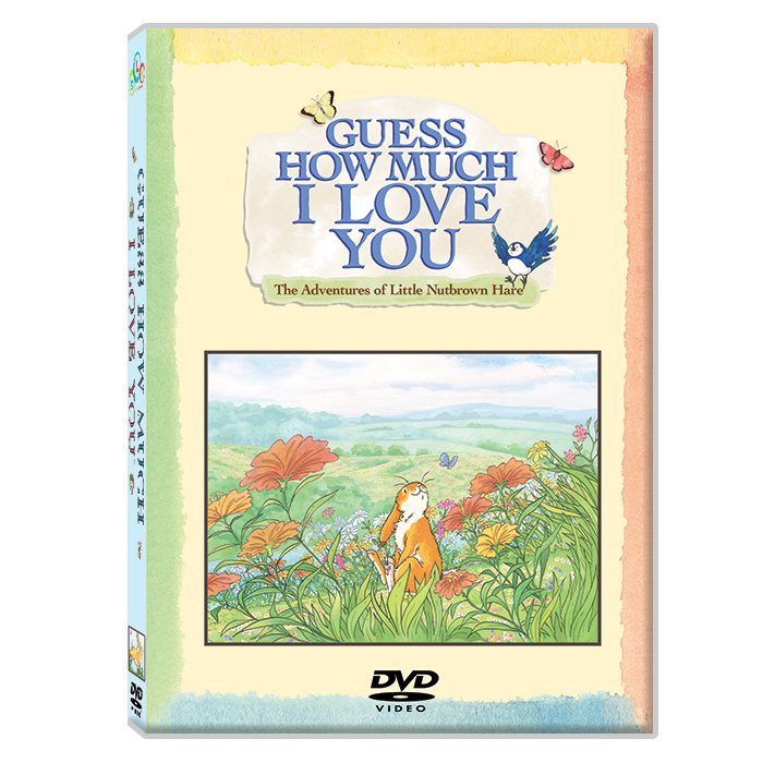 [DVD] Guess How Much I Love You (DVD 4종+mp3CD 1장) 아빠사랑해요DVD