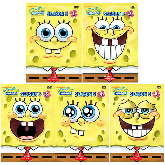 [DVD] SpongeBob SquarePants (보글보글 스폰지밥) Season 5