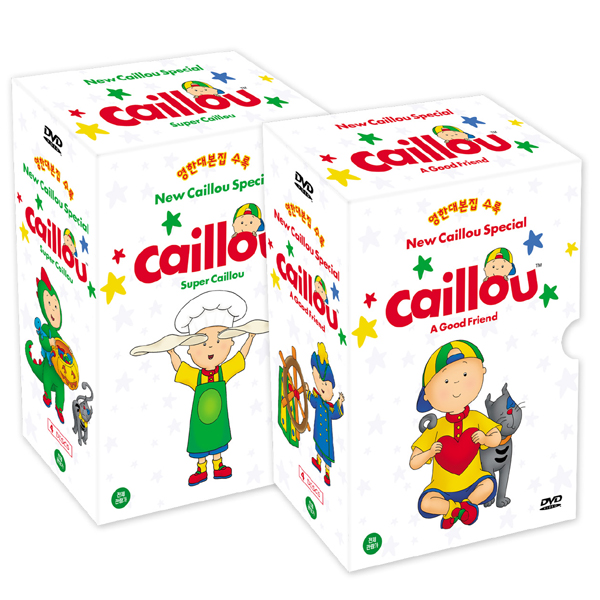 [DVD] New Caillou specail (뉴 까이유 스페셜) 19종 세트