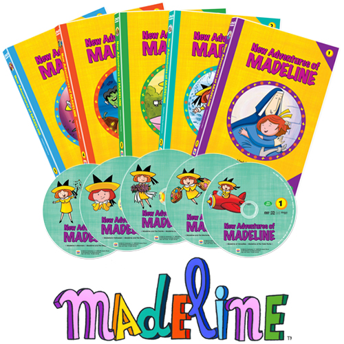 [DVD] 뉴 매들라인 New Adventures of Madeline 5종세트
