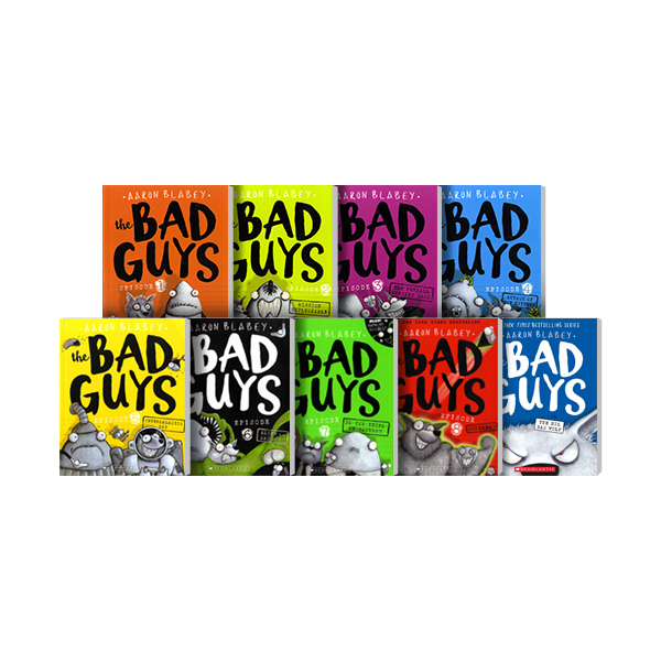 RL 2.4-2.5 : The Bad Guys #1~9세트 (Paperback)(CD미포함)