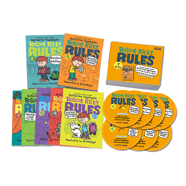 Roscoe Riley Rules #01-7 (Book+CD) Box Set (Paperback+CD)