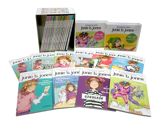 Junie B. Jones 1~28권 세트 (Book & CD & Word Book)