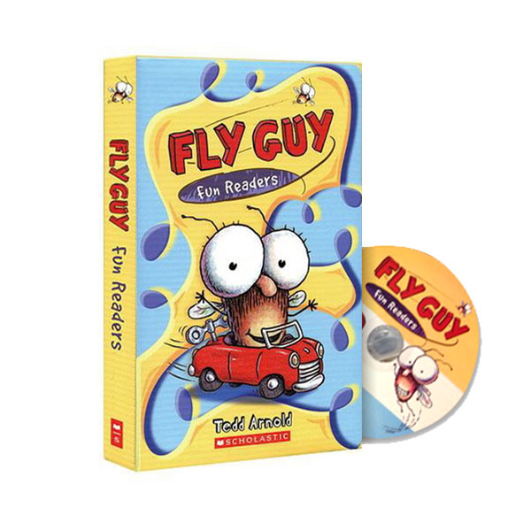 Fly Guy Fun Readers #01-5 Boxed Set (Paperback+CD)