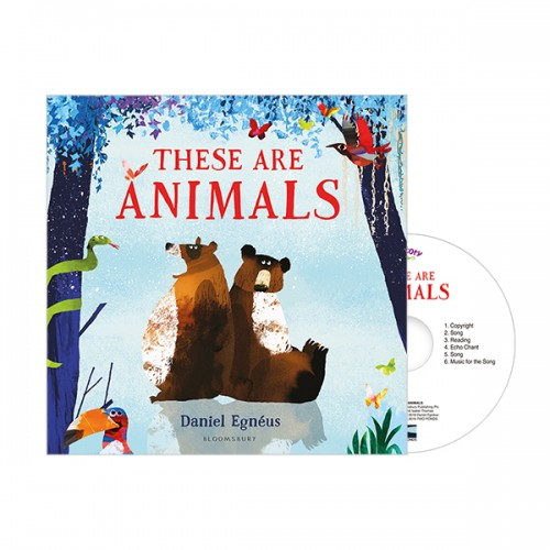 Pictory - These are Animals (Book & CD)