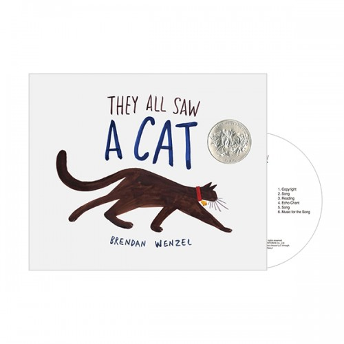 Pictory - They All Saw a Cat (Book & CD)
