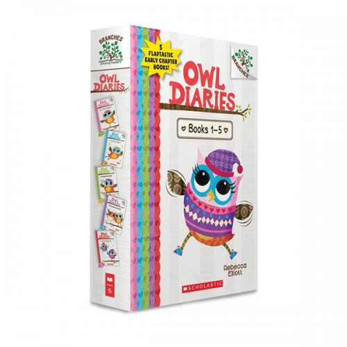 [스콜라스틱] Owl Diaries Treetop Adventure #01-5 챕터북 Box Set (Paperback)(CD없음)