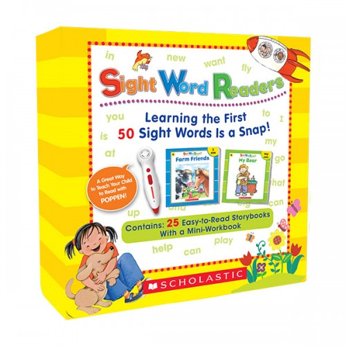 ★추가할인★[팝펜] Sight Word Readers Box Set (Paperback & CD)(팝펜미포함)