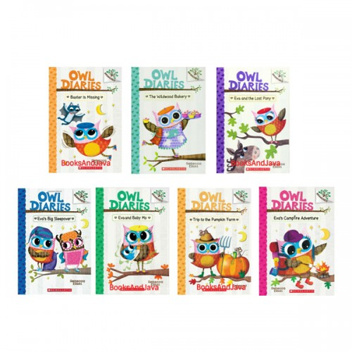 Owl Diaries Treetop Adventure #06-12 챕터북 Set (Paperback, 7종)(CD없음)