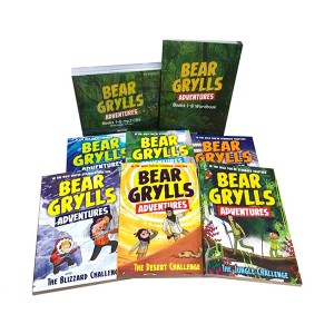 Bear Grylls Adventure 챕터북 6종 Full Set (Paperback+CD+Wordbook)